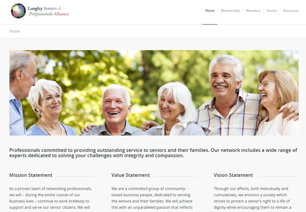 Langley Seniors Professional Alliance